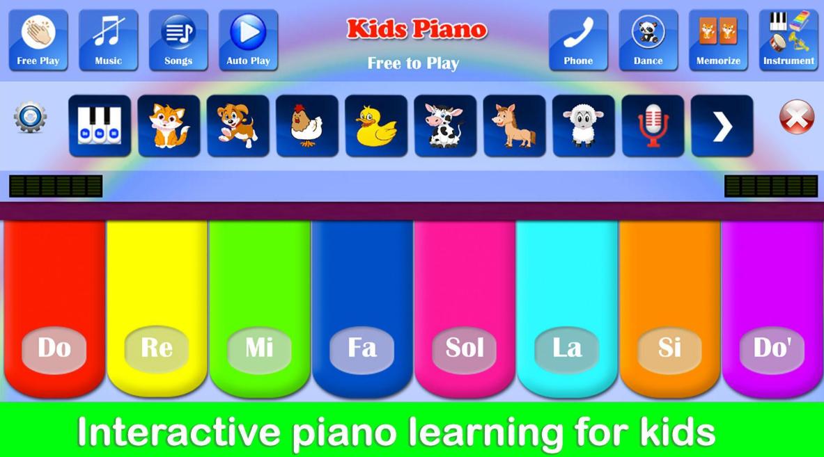تحميل لعبة Kids Piano للاندرويد 2021