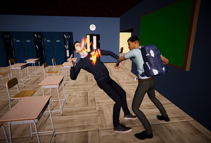 تنزيل لعبة bad guys at school للاندرويد