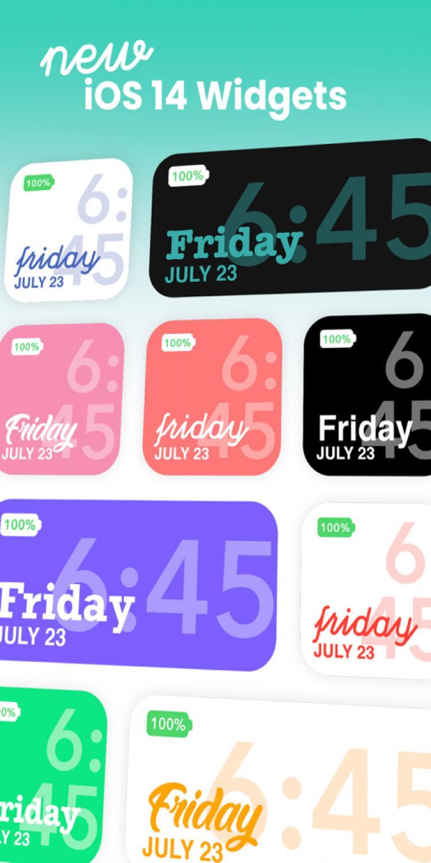 تنزيل color widgets للاندرويد